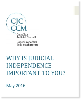 Why is Judicial Independence Important to You?
